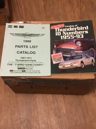 Photo 2- Ford Thunderbird Catalogs 1955-1993 Parts Catalog 1967-71 $15 (Rio Rancho)