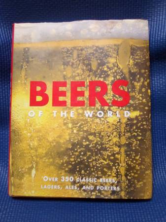 Photo BEERS of the World table top book - $35 (Albuquerque)