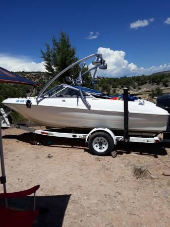 Photo Bayliner ski and fish boat 16ft - $5,000 (Albuquerque)