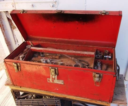 Photo Craftsman Tool Box  tools - $33 (east El Paso)