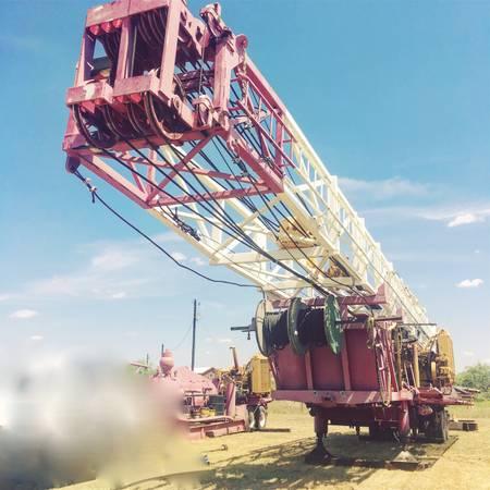 Photo Drilling Rig, WichTex 2500 - $160 (Odessa TX)