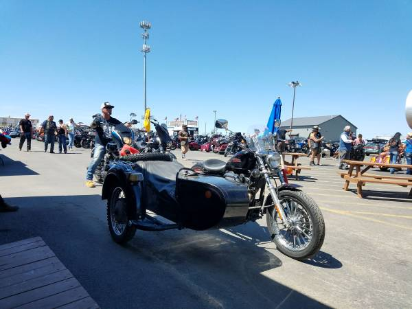 Photo Harley Davidson with sidecar - $7,500 (Roswell)