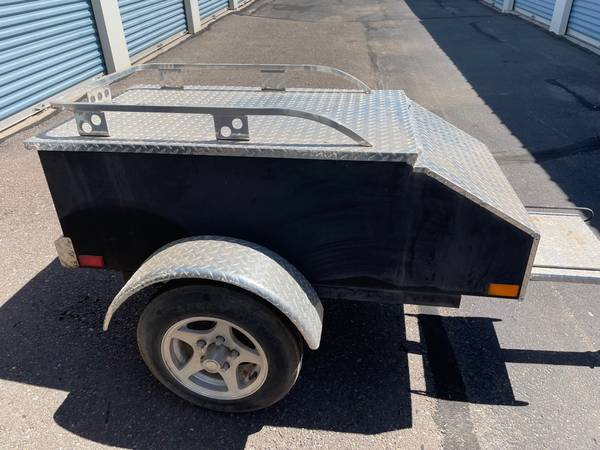 Photo Motorcycle trailer can be pulled with a bike or car 1000 or best offer - $1,000 (Albuquerque)