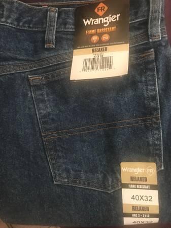 Photo New Wrangler FR Jeans For Sale - $35 (Roswell)