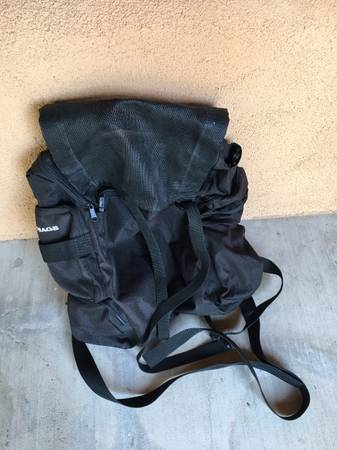 Photo T- Bag Motorcycle luggage universal expendable - $30 (Corrales)
