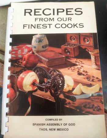 Photo Vintage Recipes from our Finest Cooks Taos Nm - $7 (Albuquerque)