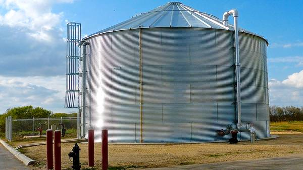Photo Water Tanks for Fire Suppression or Water Storage
