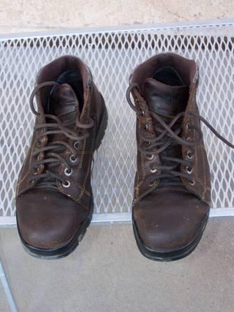 Photo Work Boots, Wolverine Steel Toe, 8.5D - $16 (abq)