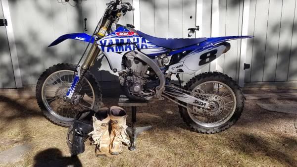 Photo Yamaha YZ450F Dirt Bike - $4,000 (Ruidoso)