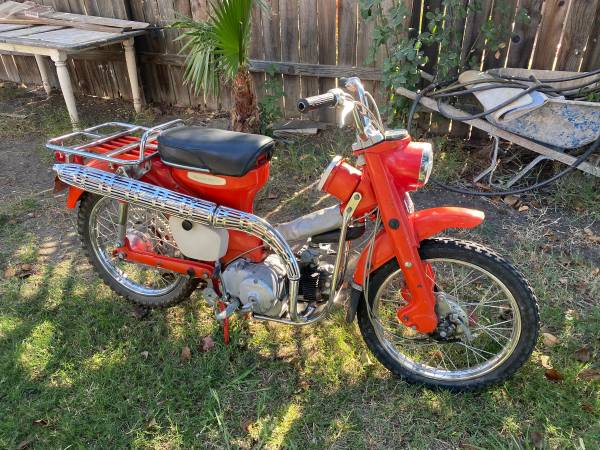 Photo 1964 Honda Trail 90 - $1,300 (Folsom)