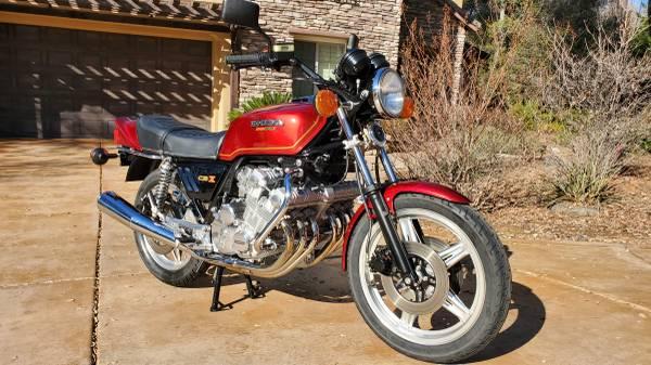Photo 1979 honda cbx - $13,500 (Shingle springs)