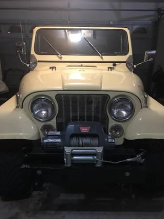 Photo 1983 Jeep CJ5 - 4 x 4 - $16,900 (ROSEVILLE)