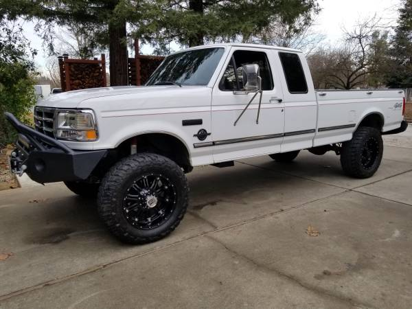 Photo 1997 Ford F250 XLT 7.3 Diesel - $27,500 (Elk Grove)
