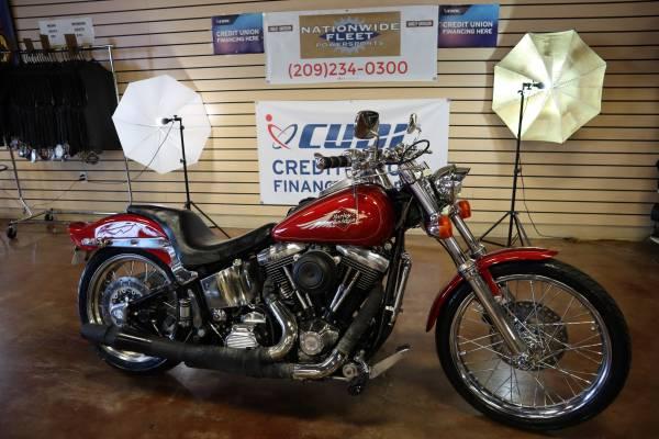 Photo 1998 Harley Davidson Softail FXSTC Custom EVO - $6,500 (Lathrop)