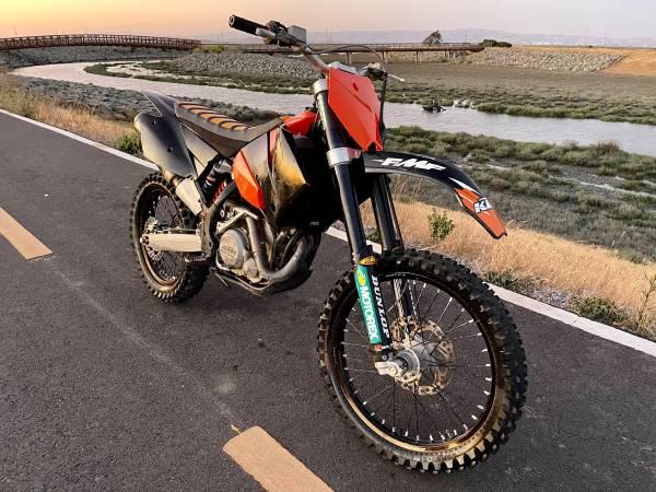 Photo 2006 KTM 450 EXC - GREEN STICKER - $3,995 (Orangevale)