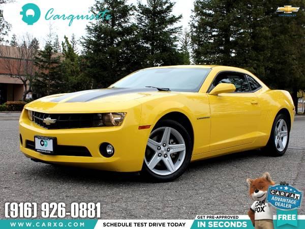 Photo 2011 Chevrolet Camaro Coupe 6 Speed Manual - $7999 (Chevrolet Camaro 2011 Car SUV Truck CUDL)