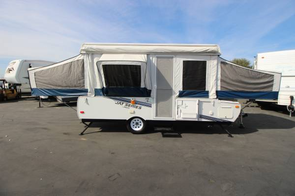 Photo 2011 Jayco Tent Trailer W 1 Slide Out Just in Lightweight - $8999 (ROCKLIN- JUST IN Lightweight)