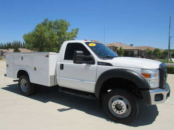 Photo 2012 FORD F450 SUPER DUTY 4WD REGULAR CAB  CHASSIS 141 UTILITY BED - $20995 (2WIN AUTO SALES)