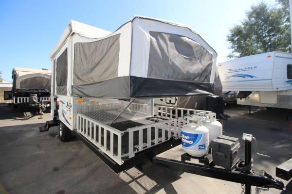 Photo 2012 Jayco Baja Tent Trailer W Front Cargo Deck WONT LAST LONG - $9995 (SacramentoRocklin)