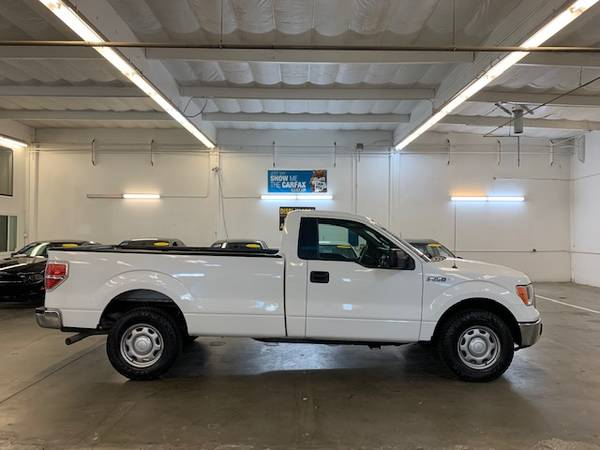 Photo 2013 FORD F-150 XL- V8 - 5.0L - LONG BED W TOWING PKG - 78,237 MILES - $12790 (WHITE COLOR - SUPER CLEAN TRUCK - $2K DOWN FINANCING OK)