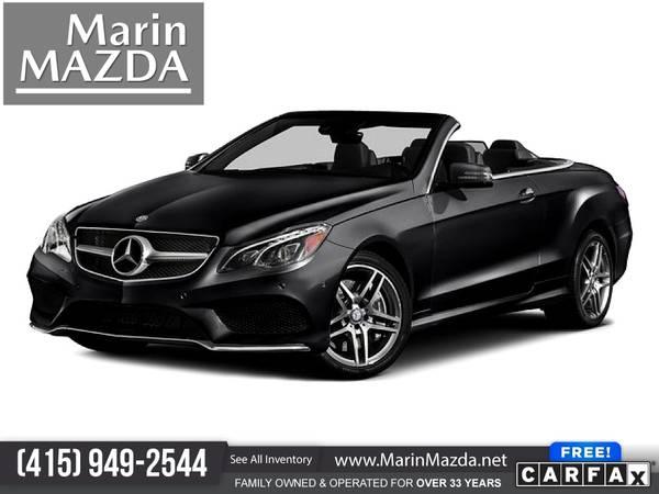 Photo 2016 Mercedes-Benz EClass E Class E-Class E 550 FOR ONLY $427mo - $29,488 (Marin Mazda)