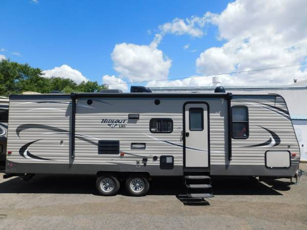 Photo 2017 KEYSTONE HIDEOUT 27 BUNKHOUSE TRAVEL TRAILER W SLIDEOUT - $23,950 (GOLD COUNTRY RV)