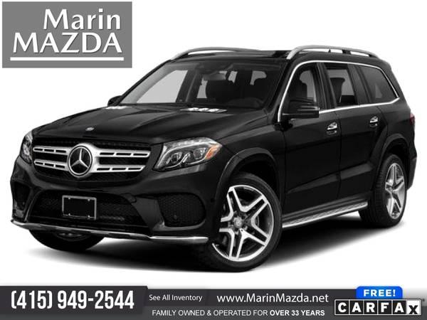 Photo 2018 Mercedes-Benz GLS GLS 550 FOR ONLY $1,000mo - $68,988 (Marin Mazda)