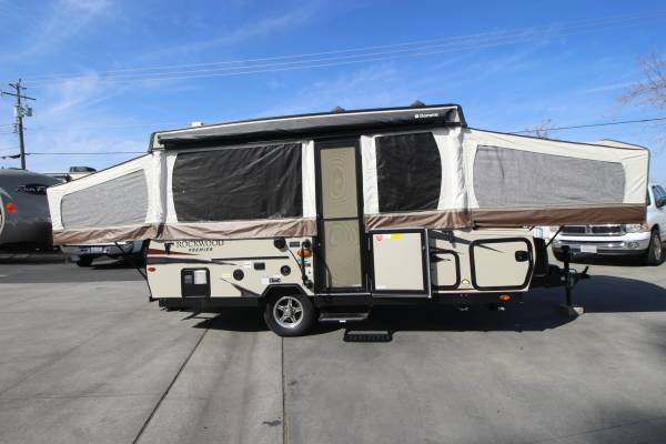 Photo 2018 Rockwood Tent Trailer W 1 Slide FULLY LOADED - $11995 (ROCKLIN- JUST IN)
