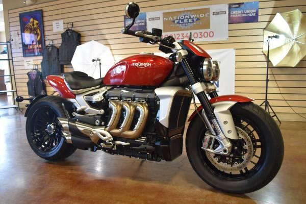 Photo 2020 Triumph Rocket 3R Sport Bike Like New 652 Actual Miles - $18,900 (Lathrop)