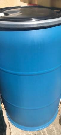 Photo 55 gallon drum w seal - $50 (Dixon)