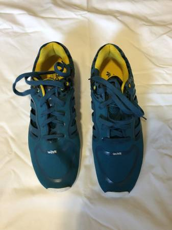 Photo Adidas Men39s Tech Super 3.0 Surf Petrol Blue  Yellow  White Size 12 - $80 (Rocklin  Loomis)