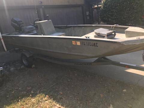 Photo Bass tracker grizzley hunting  fishing boat - $5,800 (Carmichael)