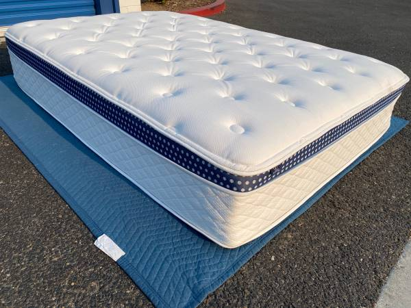 Photo Brand New Full Size Luxury Firm Mattress Can deliver - $800 (Sacramento)