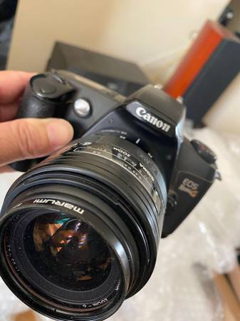 Photo Canon EOS Rebel G 35mm film camera - $60 (W Sacramento downtown)