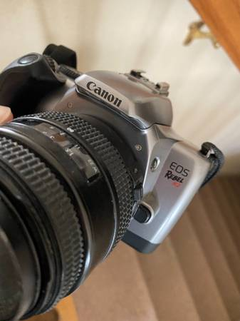 Photo Canon EOS Rebel K2 film Camera 35mm - $60 (DowntownWest Sacramento)
