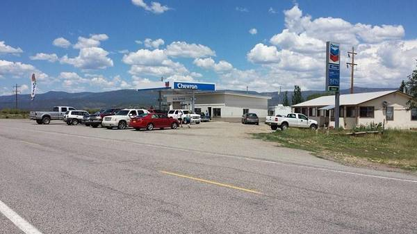 Photo Chevron and 3br home and 20 unit self storage (Northern NM near Chama)