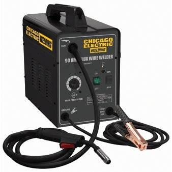 Photo Chicago Electric Welding Systems 90 Amp Flux Wire Welder - $90 (North Highlands)