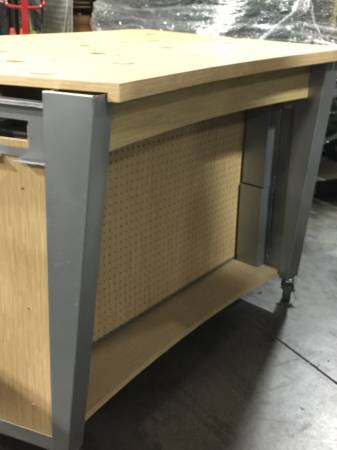 Photo Counter Locking Glass Front Display Case - $300 (Rancho Cordova)