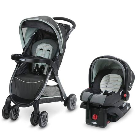 Photo Graco Fold Travel System,Stroller and Car Seat (NEW) - $200