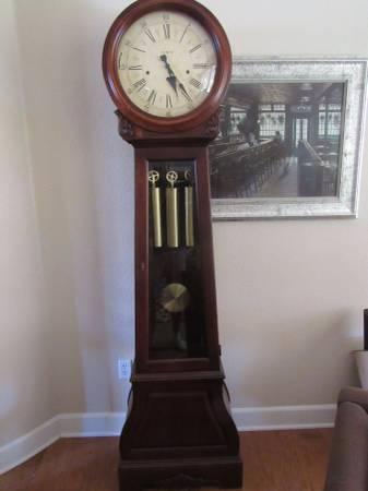 Howard Miller La Rochelle Americana Cherry Grandfather Clock