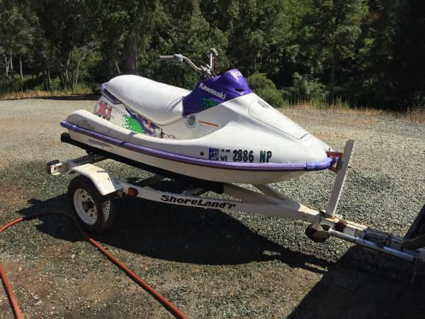 Photo Jet ski and Trailer - $2,200 (Jackson)