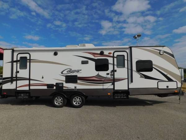 Photo KEYSTONE COUGAR 28 BUNKHOUSE TRAVEL TRAILER W SUPERSLIDE - $24,500 (GOLD COUNTRY RV)