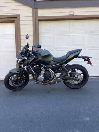 Photo Kawasaki Z650 ABS Motorcycle - $5,500 (Vacaville)