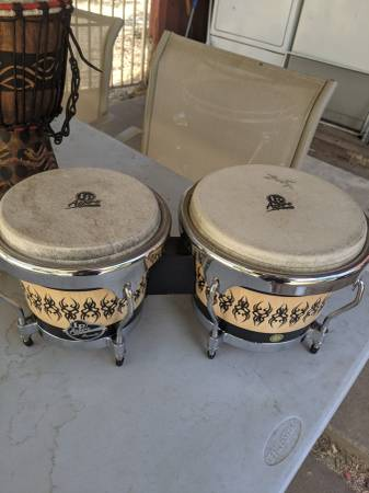 Photo LP Aspire Accents Bongo Set - $70 (Elk Grove)