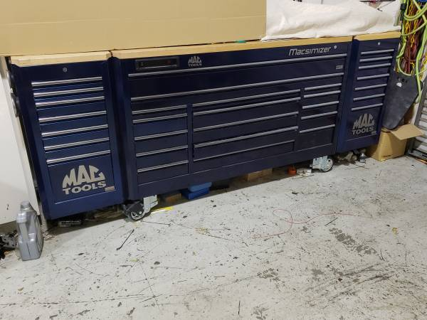 Photo Mac tools Macsimizer tool box - $13000 (Brentwood)