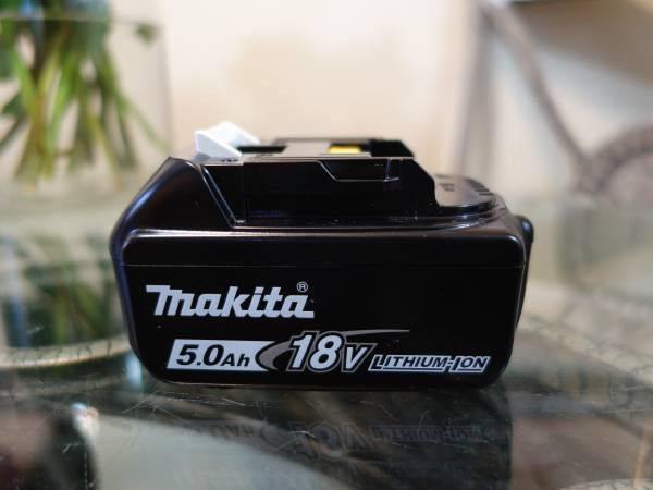 Photo Makita 18V 5Ah Battery - $65 (Citrus Heights)