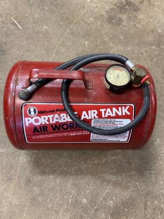 Photo Midwest Products Portable Air Tank 5 Gallon - $20 (4825 Grove St Rocklin CA 95677)