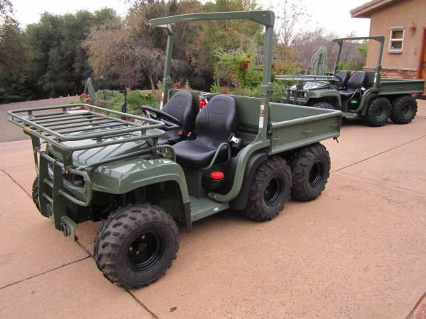 Photo NEW John Deere BIG DIESEL Military 6x4 4x4 Gator - $22999 (Auburn)