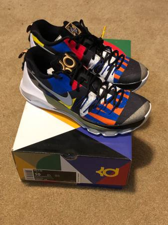 Photo New Nike KD 8 AS All Star Kevin Durant Mens Basketball Shoes Size 10 - $160 (Elk Grove)
