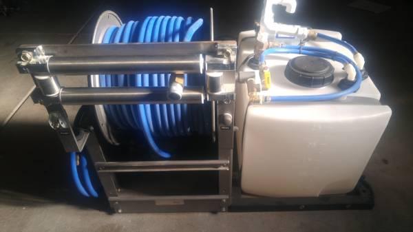 Photo Oldham Chemicals 25 Gallon Skid pump and sprayer - $1 (Sacramento)